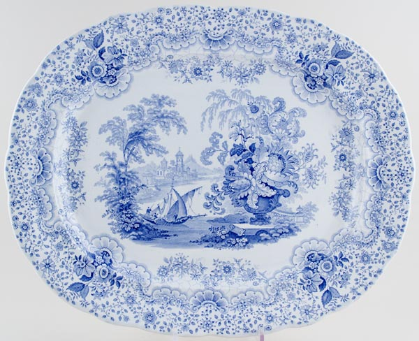 Ridgway Persian Meat Dish or Platter c1830