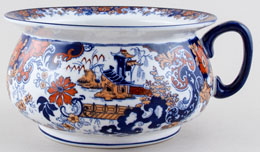 Ridgway Chinese Japan Chamber Pot c1900