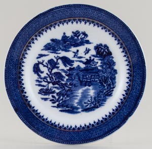 Robinson Mandarin Side or Cheese Plate c1900