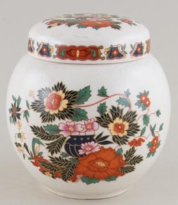 Sadler Unidentified Pattern colour Ginger Jar c1920s