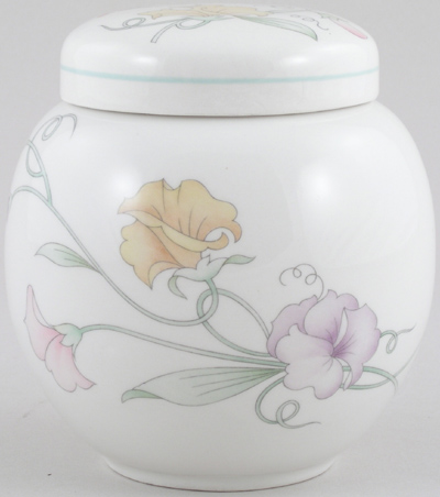 Sadler Sweet Pea colour Ginger Jar