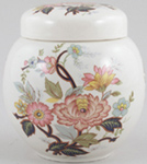 Sadler Unidentified Pattern colour Ginger Jar c1930s