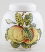 Sadler Apples colour Ginger Jar c1950s