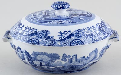 Spode Italian Covered Dish c1989
