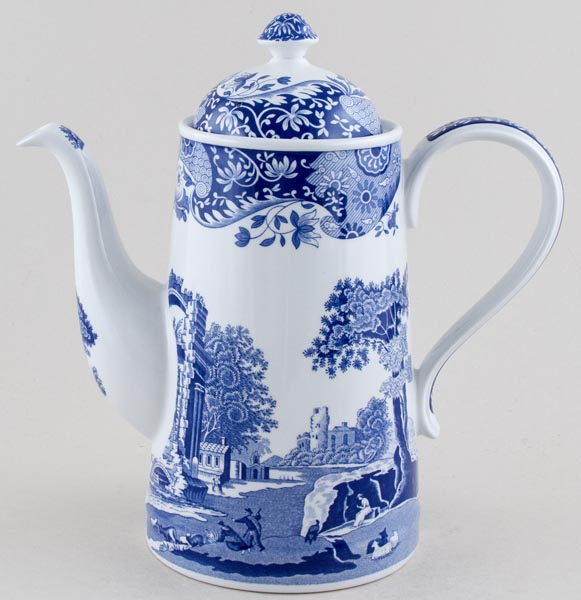 Spode Italian Coffee Pot large c1999