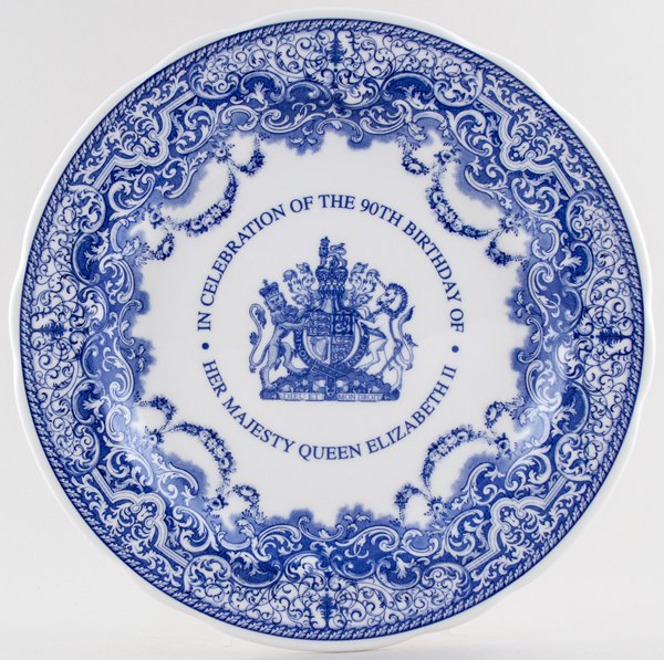 Spode Queens Birthday Commemorative Plate