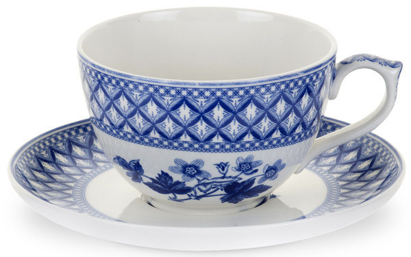 Spode Blue Room Cup and Saucer Jumbo Geranium | Lovers of ...