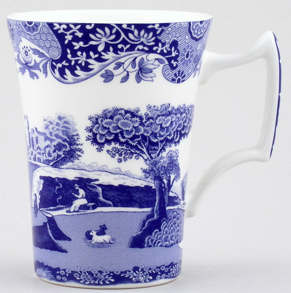 Spode Blue Room Mug Cottage Shape