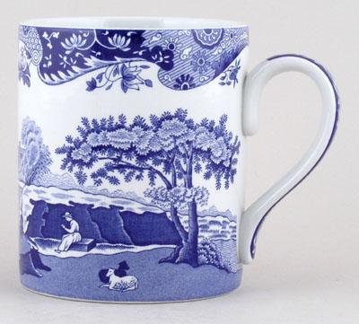 Spode Blue Room Mug large Italian