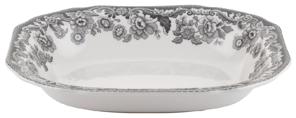 Spode Delamere Rural grey Vegetable Dish