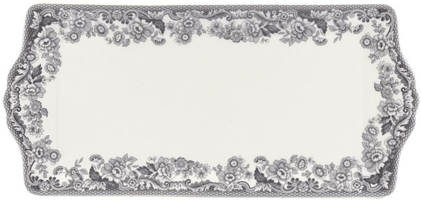 Spode Delamere Rural grey Sandwich Tray