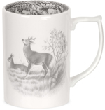 Spode Delamere Rural grey Mug Deer