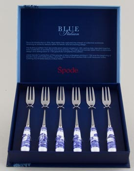 Spode Italian Forks Pastry Set of Six