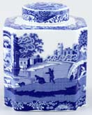 Spode Italian Tea Caddy