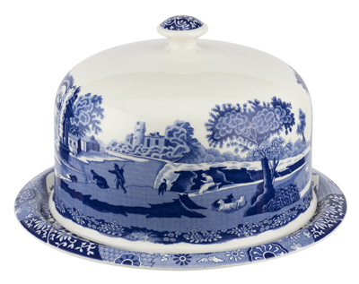 Spode Italian Platter with Dome 250th Anniversary