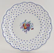 Spode Polka Dot colour Plate c1960