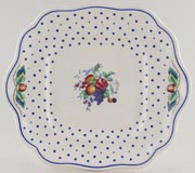 Spode Polka Dot colour Bread and Butter Plate c1945