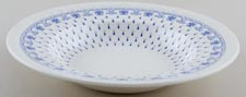 Spode Ermine Dessert or Small Soup Plate c1940s