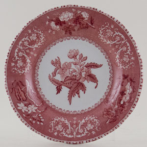 Spode Camilla pink Plate c2008