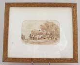 Watercolour Sepia c1849