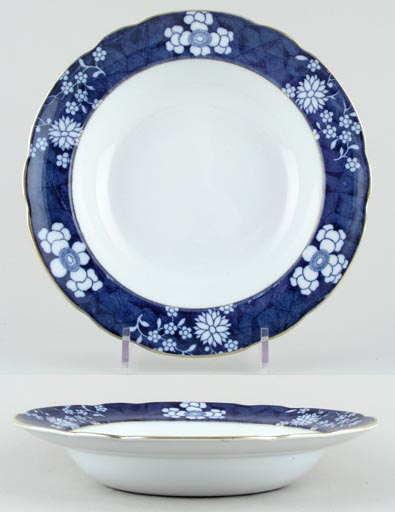 Spode Chinese Figures Soup or Pasta Plate c1924