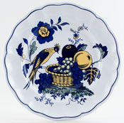 Spode Blue Bird colour Plate c1990s
