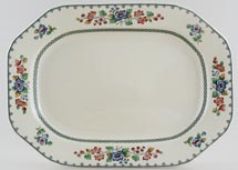 Spode Strathmere colour Meat Dish or Platter c1956