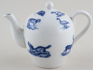Spode Animals Toy Teapot c1890