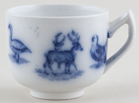 Spode Animals Toy Cup c1895