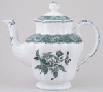 Spode Camilla green Coffee Pot c1981