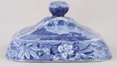 Vegetable Dish Cover c1825