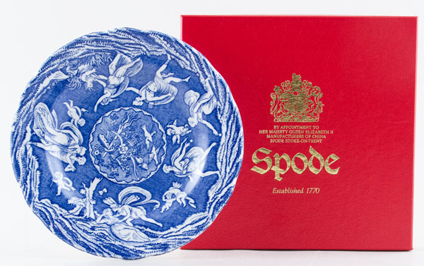 Spode Love Chase Plate c1994 Limited Edition
