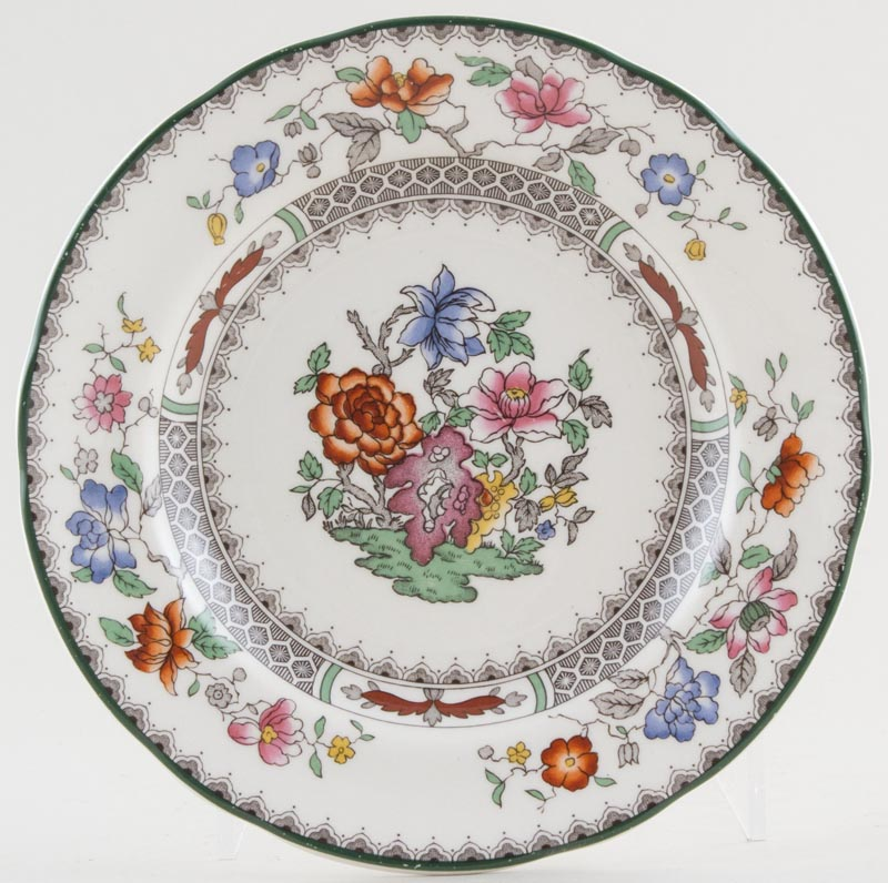Spode Chinese Rose colour Plate c1990s