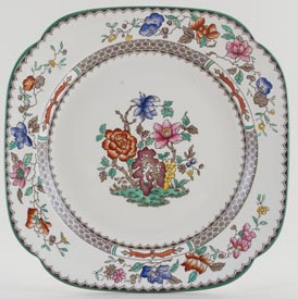 Spode Chinese Rose colour Bread and Butter Plate c1930s to 1960s