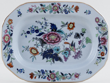 Spode Currants colour Sauce Tureen Stand c1940