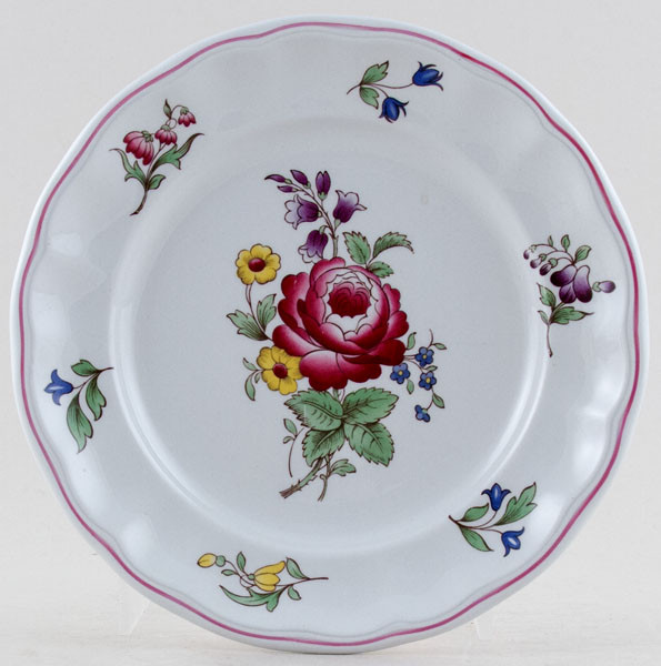 Spode Marlborough Sprays colour Plate c1990