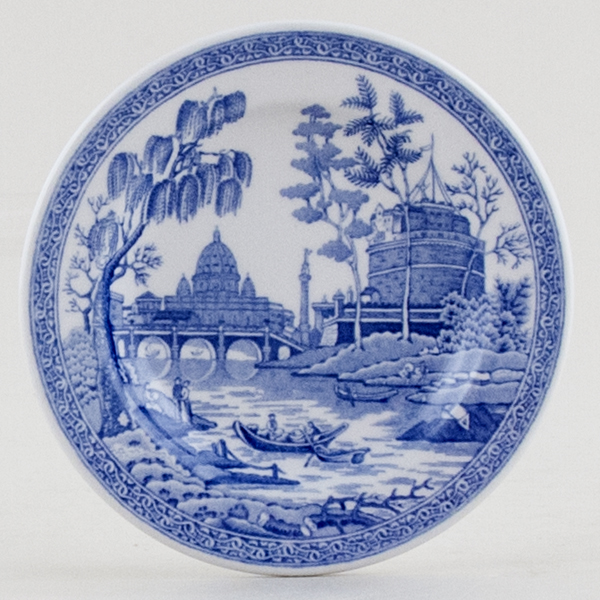 Spode Blue Room Miniature Plate Rome C1999 Lovers Of