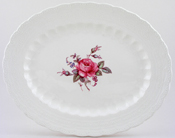 Spode Billingsley Rose colour Meat Dish or Platter c1970s