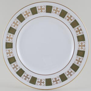 Spode Persia green Plate c1960s