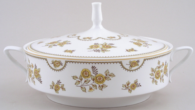 Spode Austen yellow Vegetable Dish c1970s