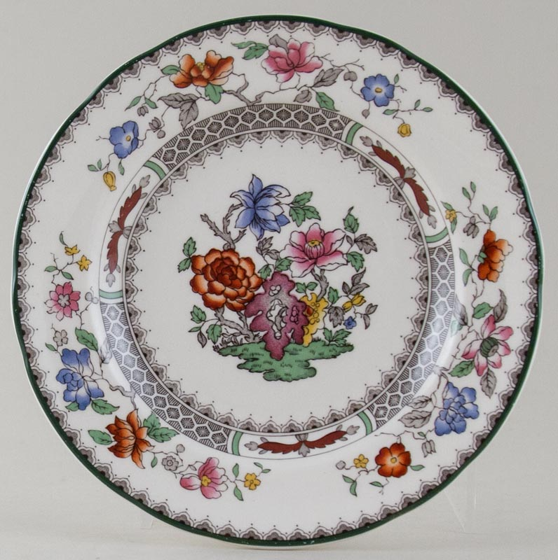 Spode Chinese Rose colour Plate c1956