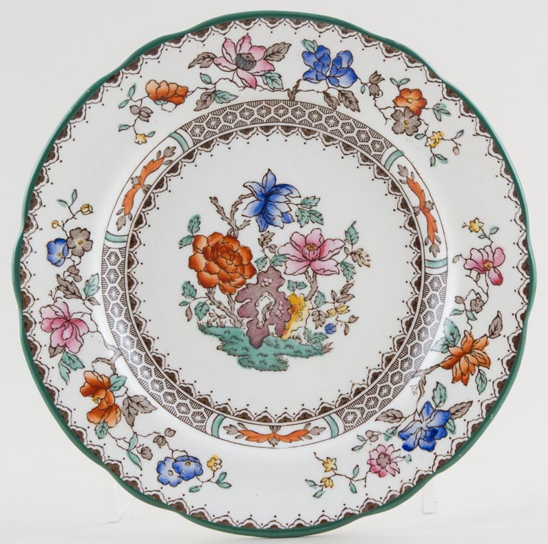 Spode Chinese Rose colour Plate c1930s to 1980s