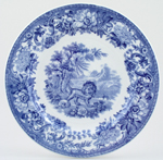 Plate The Fox and The Lion c1911