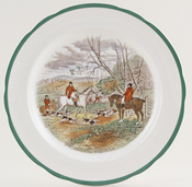 Spode The Hunt Colour China Archive Of Sold Items Lovers Of Blue