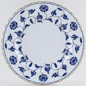 Spode Blue Colonel Plate 1960