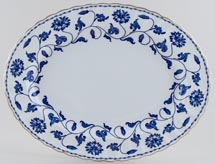 Spode Blue Colonel Meat Dish or Platter c1991