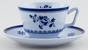 Spode Gloucester Teacup and Saucer c1980