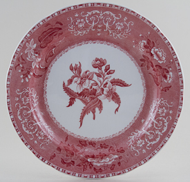 Spode Camilla pink Plate c1960s