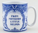 Spode Blue Room Mug Memento's Mother's Little Helper c1997