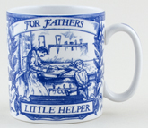 Spode Blue Room Mug Mementos Father's Little Helper c1997